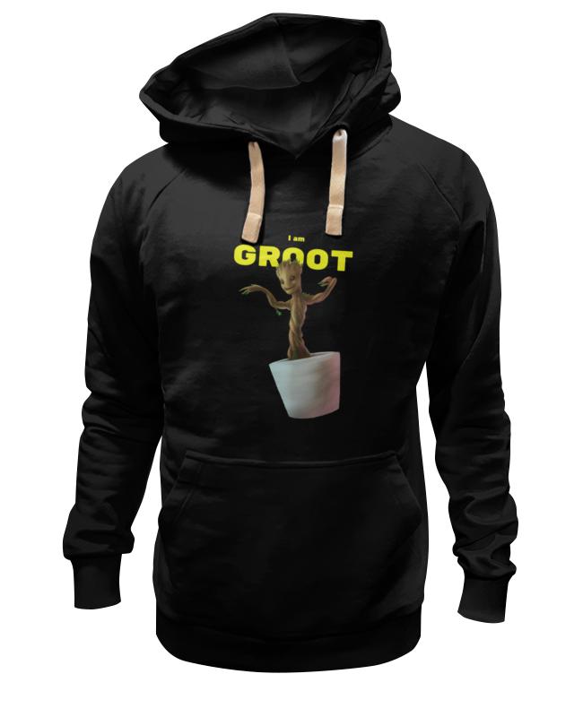 Толстовка Wearcraft Premium унисекс Printio Я есть грут футболка wearcraft premium printio я есть грут