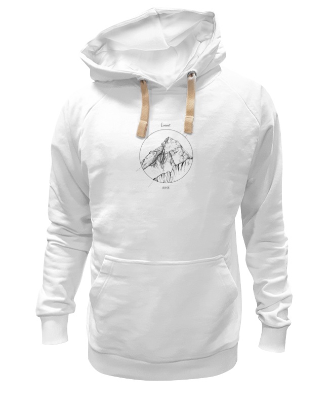 Толстовка Wearcraft Premium унисекс Printio Эверест костюм зимний эверест эверест синий 44 46