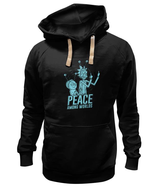 Толстовка Wearcraft Premium унисекс Printio Рик и морти толстовка wearcraft premium унисекс printio peace among worlds рик санчез