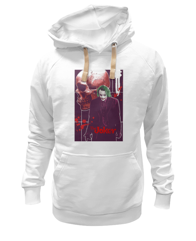 Толстовка Wearcraft Premium унисекс Printio The joker толстовка wearcraft premium унисекс printio the rasmus