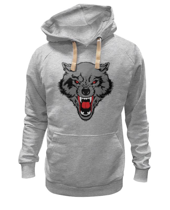 Printio Оскал волка толстовка wearcraft premium унисекс printio красные маки