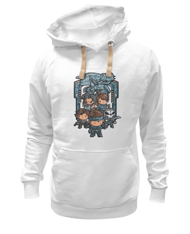 Толстовка Wearcraft Premium унисекс Printio Метал гир футболка wearcraft premium printio топ гир