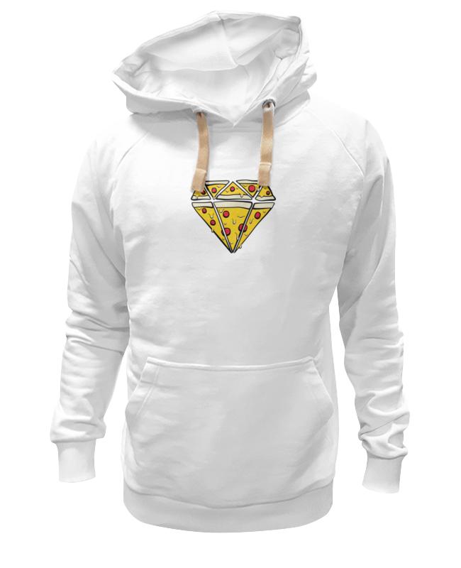 Толстовка Wearcraft Premium унисекс Printio Алмаз из пиццы алмаз алмаз 1020