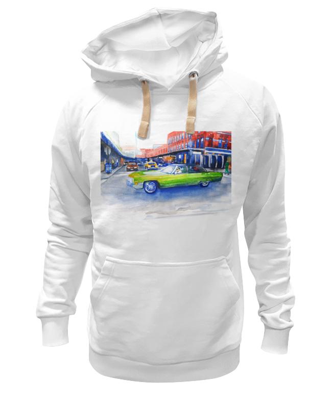 Толстовка Wearcraft Premium унисекс Printio Крутая машина на 14-ой улице нью йорка пазл clementoni trittico 3х500 эл легенды нью йорка 39305