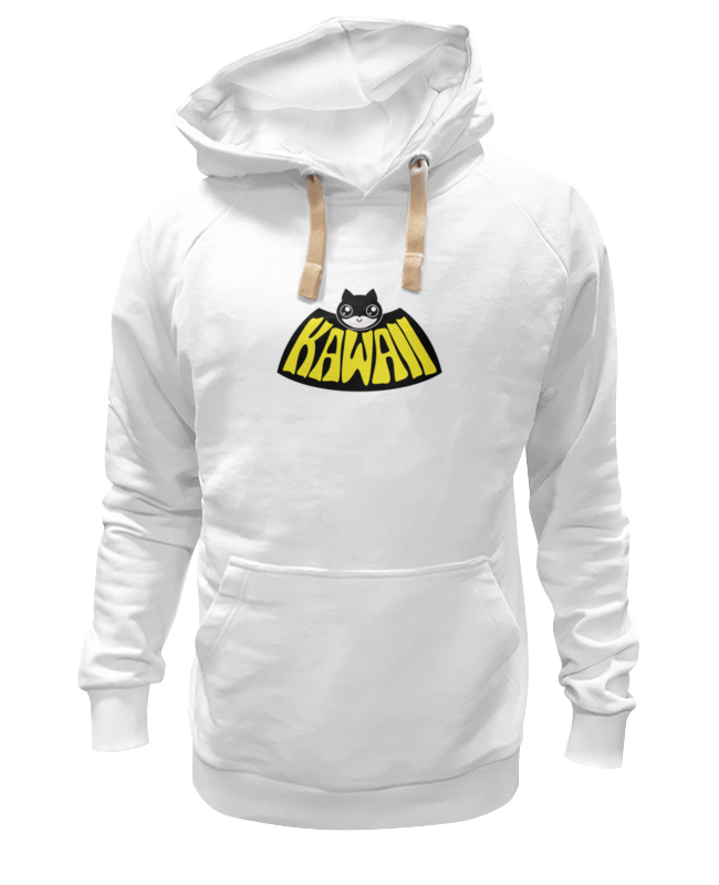 Толстовка Wearcraft Premium унисекс Printio Batman kawaii