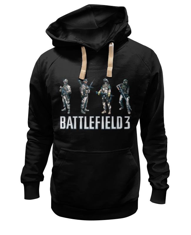 Толстовка Wearcraft Premium унисекс Printio Battlefield 3 цена 2017