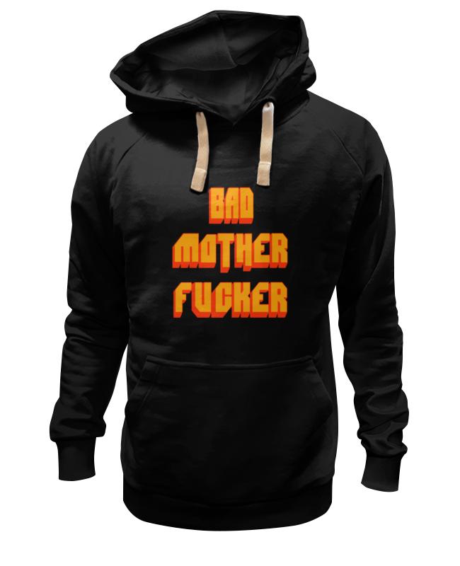 Толстовка Wearcraft Premium унисекс Printio Bad mother fucker футболка wearcraft premium slim fit printio bad mother fucker