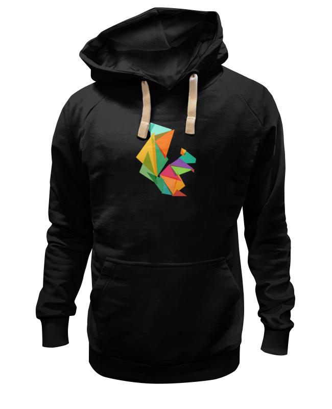 Толстовка Wearcraft Premium унисекс Printio Геометрическая белка футболка wearcraft premium printio геометрическая белка
