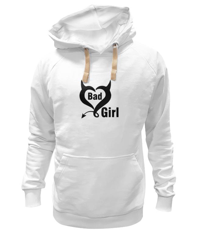 Толстовка Wearcraft Premium унисекс Printio Bad girl (плохая девченка) толстовка wearcraft premium унисекс printio gothic girl