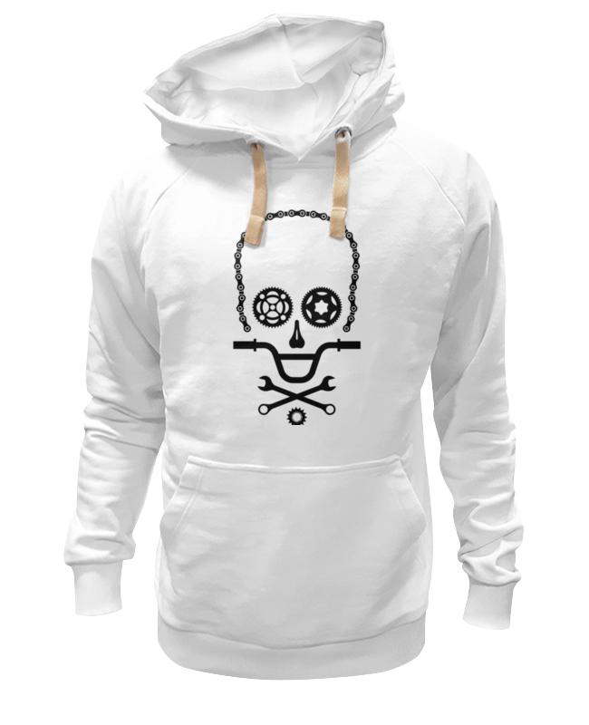 Толстовка Wearcraft Premium унисекс Printio Вело череп толстовка wearcraft premium унисекс printio вело преимущества