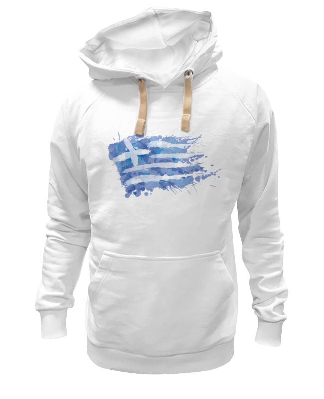 цена Printio Греческий флаг (сплэш) онлайн в 2017 году