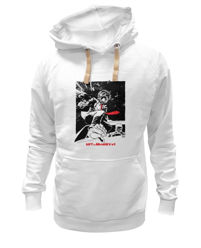 Толстовка Wearcraft Premium унисекс Printio Hit-monkey! футболка классическая printio hit monkey