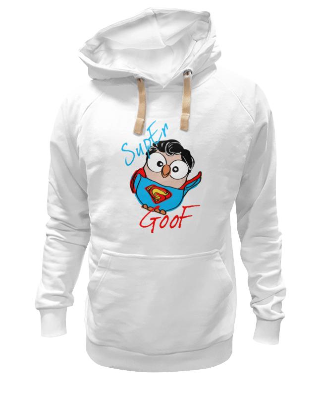 все цены на Толстовка Wearcraft Premium унисекс Printio Сова супермен суперсова goofi онлайн
