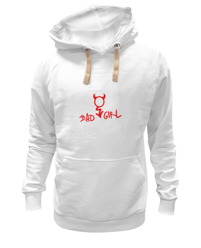 Толстовка Wearcraft Premium унисекс Printio Bad girl (плохая девченка) цена и фото