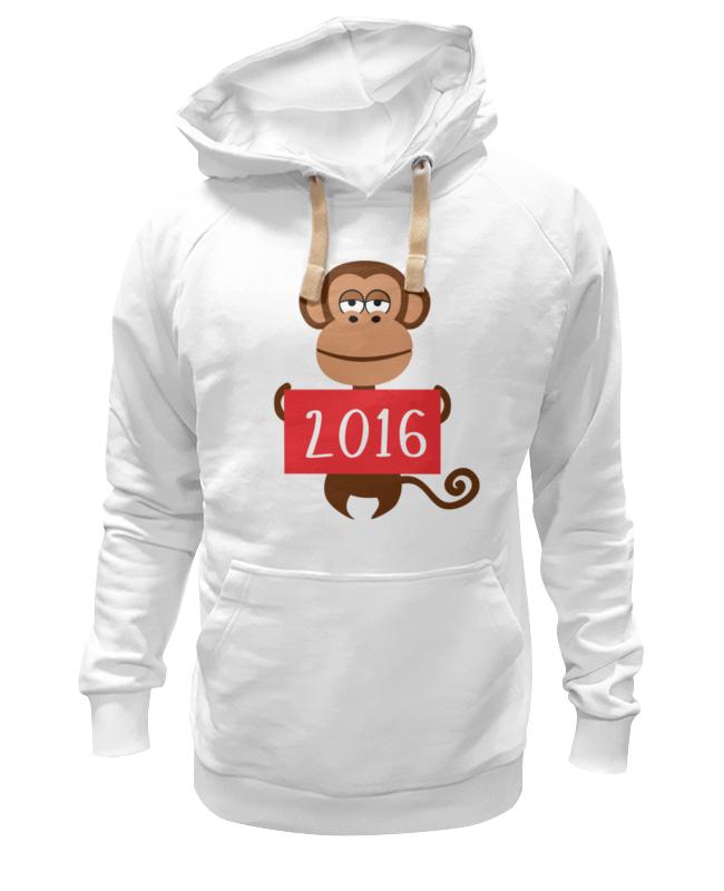 Толстовка Wearcraft Premium унисекс Printio Год обезьяны 2016 украшение настенное в виде головы обезьяны rudyard