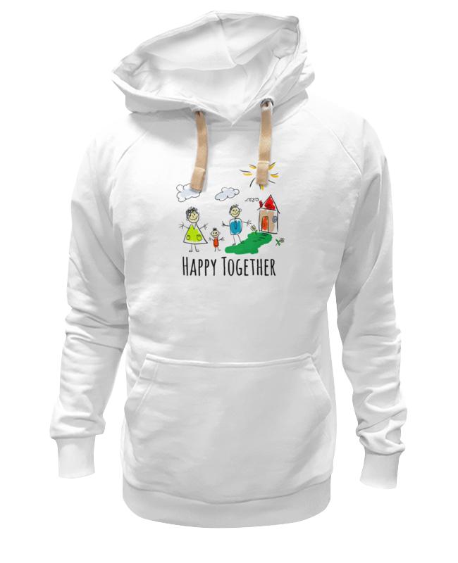Толстовка Wearcraft Premium унисекс Printio Happy together толстовка happy time 20140207s129 2014