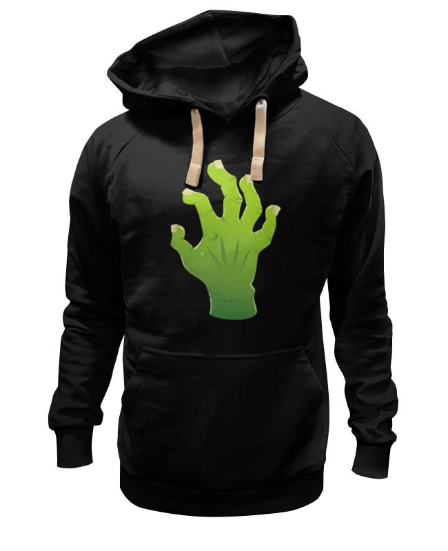 Толстовка Wearcraft Premium унисекс Printio Зомби рука толстовка wearcraft premium унисекс printio рука с шипами