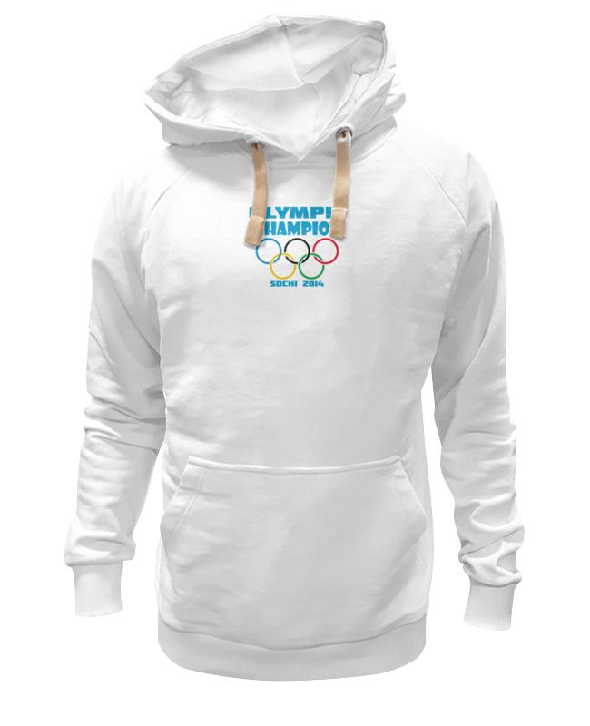 Толстовка Wearcraft Premium унисекс Printio Olympic champion цена