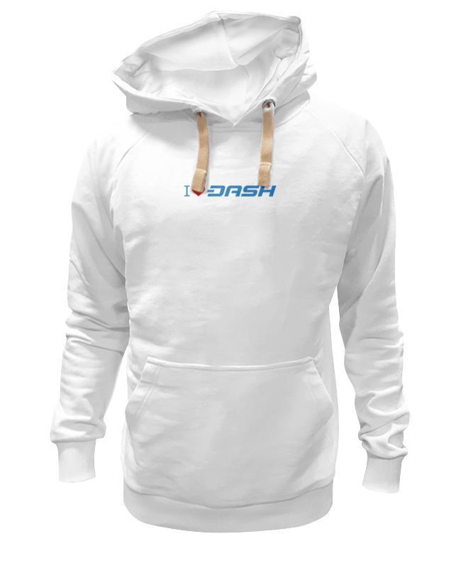 Толстовка Wearcraft Premium унисекс Printio I love dash цена