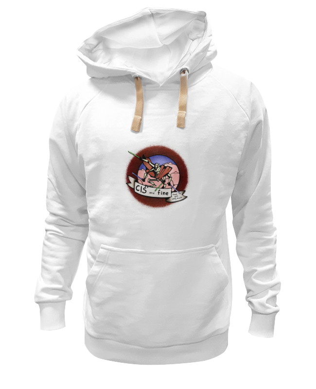Толстовка Wearcraft Premium унисекс Printio Cis an fine футболка рингер printio cis an fine