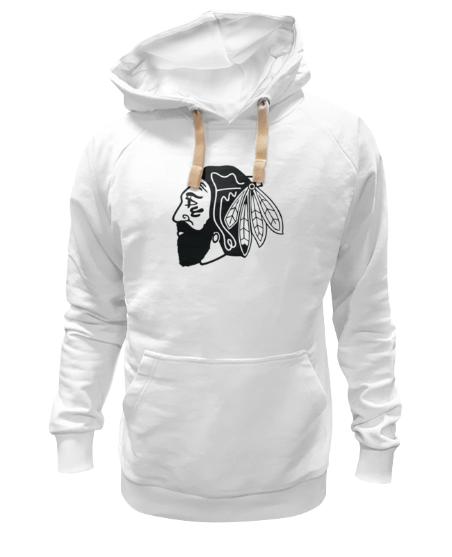Толстовка Wearcraft Premium унисекс Printio Индеец (чикаго блэкхокс) футболка print bar chicago blackhawks