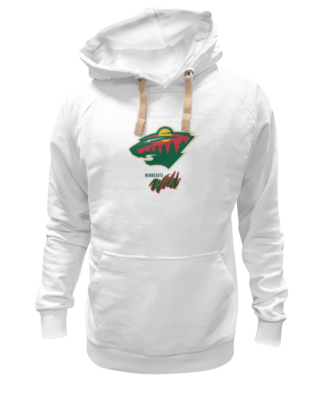 Толстовка Wearcraft Premium унисекс Printio Minnesota wild / nhl usa футболка wearcraft premium printio los angeles kings nhl usa