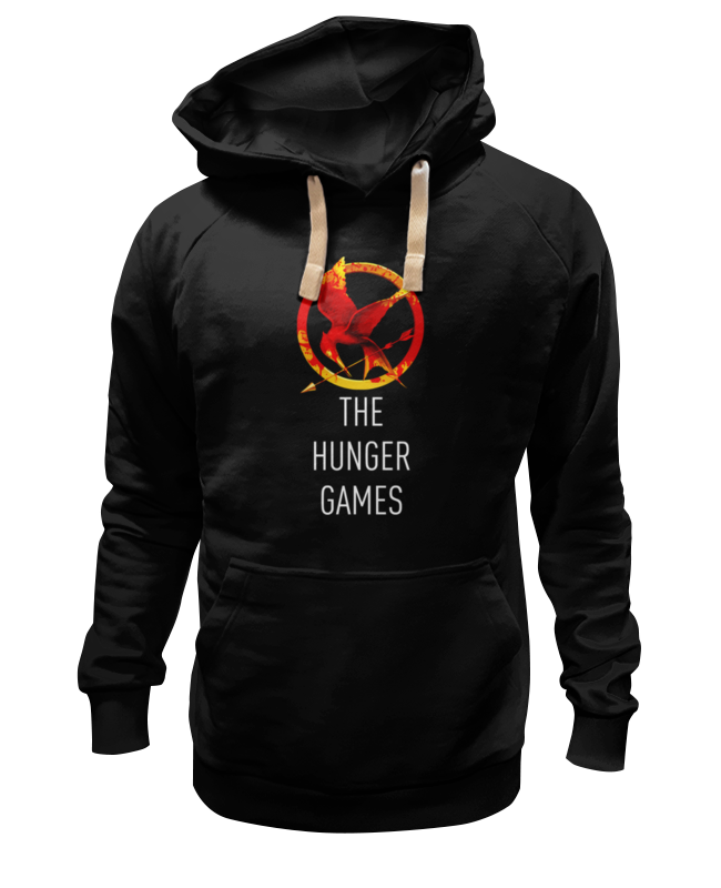 Толстовка Wearcraft Premium унисекс Printio Голодные игры (the hunger games) the games