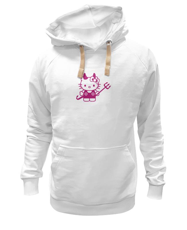 Толстовка Wearcraft Premium унисекс Printio Hello kitty devil cxzyking 20cm sweet new kt cat hello kitty plush toys cute hug mushroom hello kitty kt cat pillow dolls for kids baby girl gift