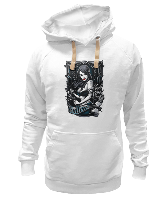 Толстовка Wearcraft Premium унисекс Printio Gothic girl