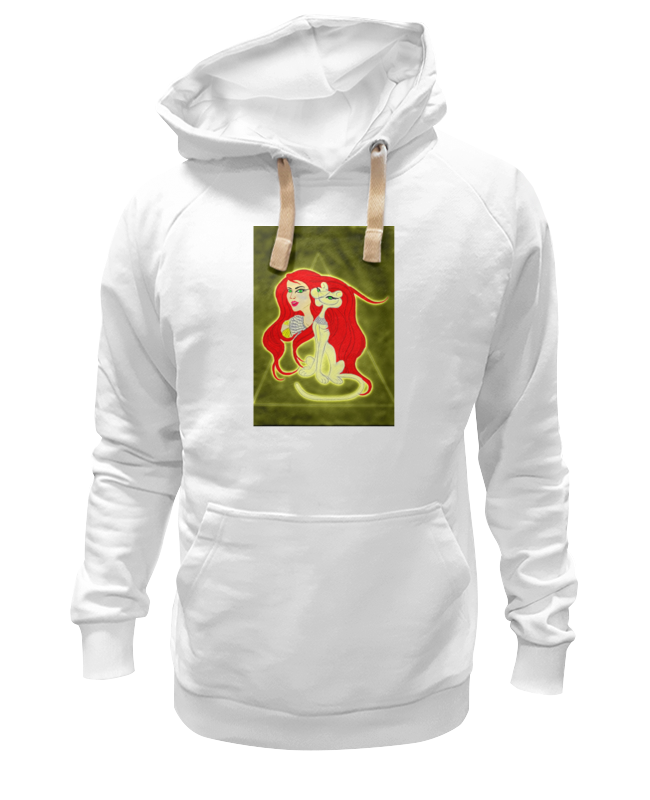 Толстовка Wearcraft Premium унисекс Printio Бастет-богиня любви футболка wearcraft premium slim fit printio бастет богиня любви