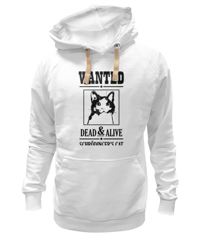 Толстовка Wearcraft Premium унисекс Printio Кот шрёдингера толстовка wearcraft premium унисекс printio кот шрёдингера dead alive