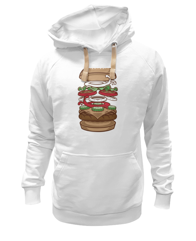 Толстовка Wearcraft Premium унисекс Printio Burger/бургер beer burger