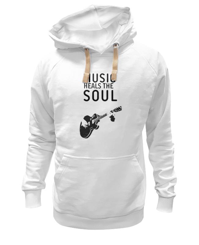Толстовка Wearcraft Premium унисекс Printio Music heals the soul толстовка wearcraft premium унисекс printio soul eater