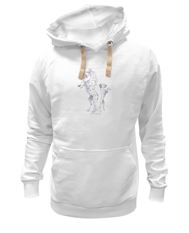 Толстовка Wearcraft Premium унисекс Printio Чубарый пони/далматин майка классическая printio далматин