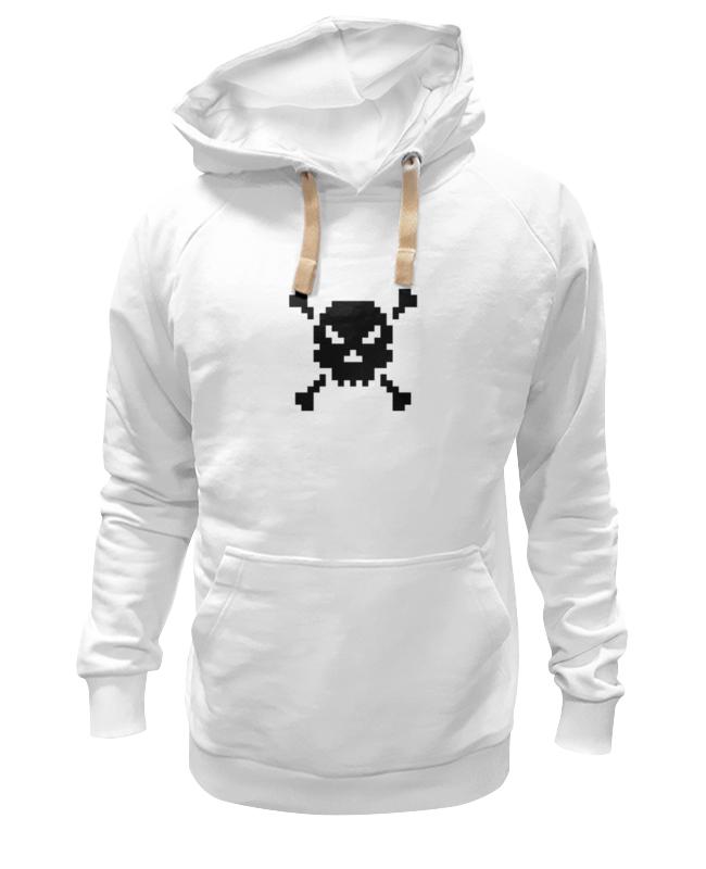 Printio Pixel art skull цена