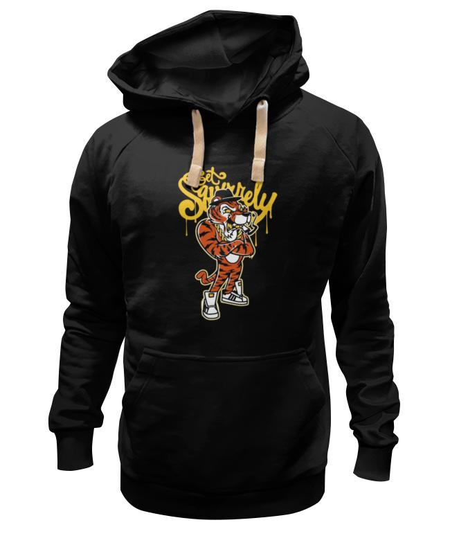 Printio Gangsta tiger толстовка wearcraft premium унисекс printio tiger