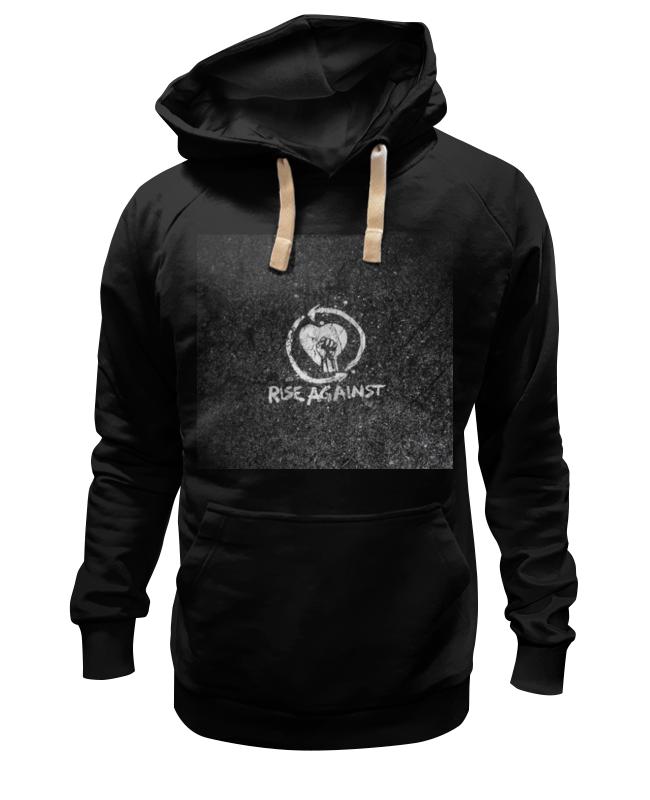 Толстовка Wearcraft Premium унисекс Printio Rise against - logo