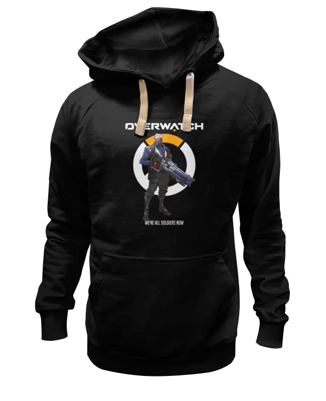 Толстовка Wearcraft Premium унисекс Printio Overwatch. солдат 76 толстовка wearcraft premium унисекс printio overwatch ана