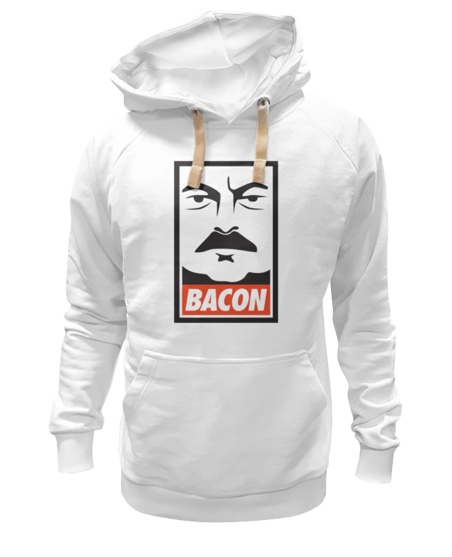 Толстовка Wearcraft Premium унисекс Printio Bacon (obey)
