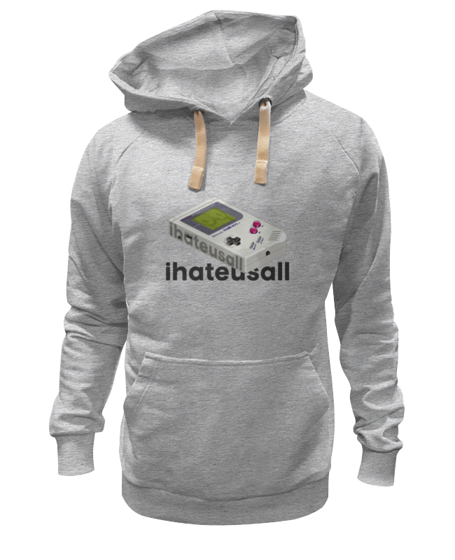 Толстовка Wearcraft Premium унисекс Printio Haters hoodie four stereo flap pocket multi button zipper epaulet design hooded long sleeves men s cool hoodie