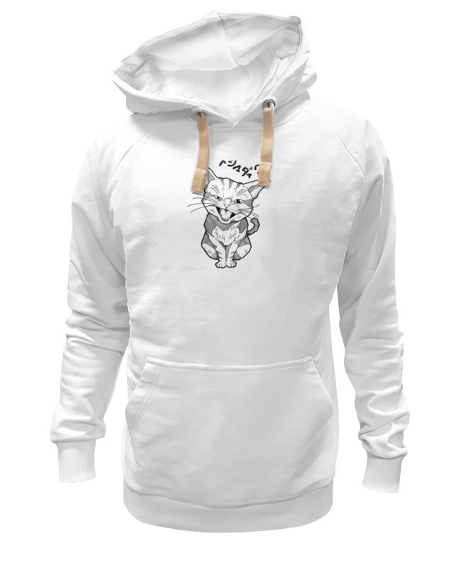 Толстовка Wearcraft Premium унисекс Printio Смешной котик толстовка wearcraft premium унисекс printio котик