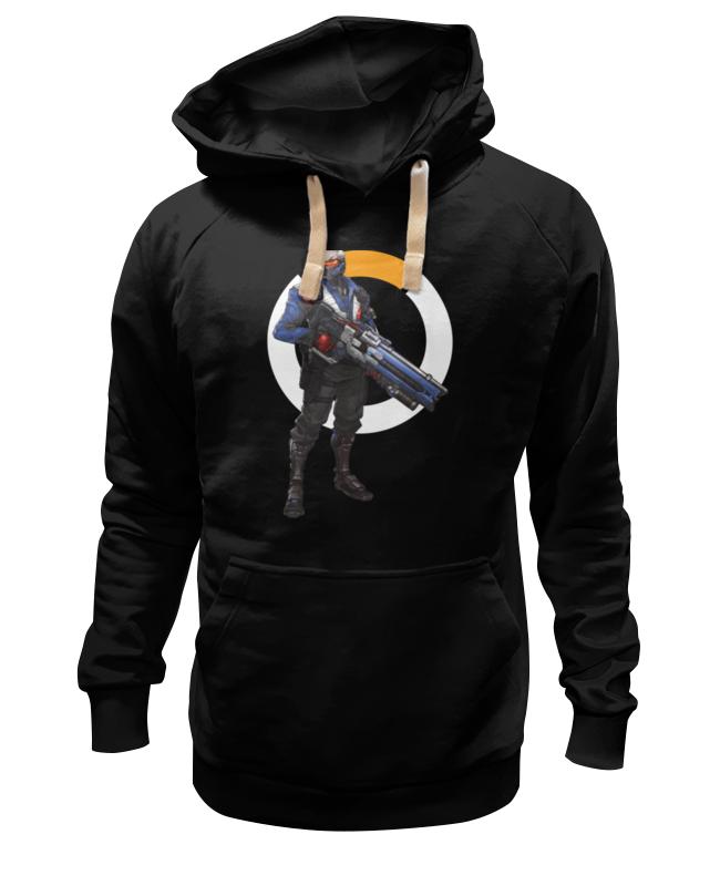 Толстовка Wearcraft Premium унисекс Printio Overwatch soldier 76 / овервотч солдат 76