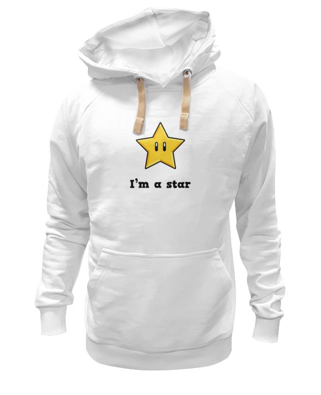 цена на Толстовка Wearcraft Premium унисекс Printio Звезда (марио)
