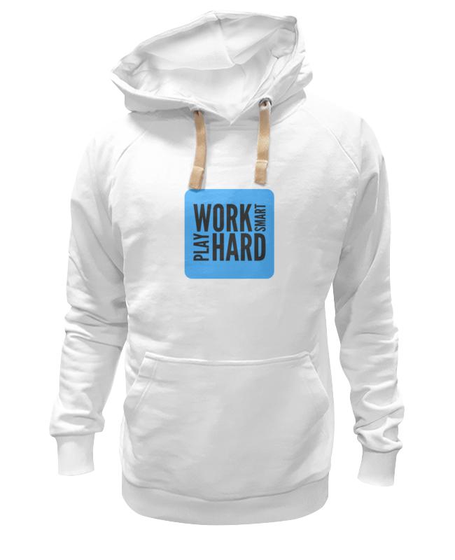Толстовка Wearcraft Premium унисекс Printio Work smart толстовка wearcraft premium унисекс printio i work hard