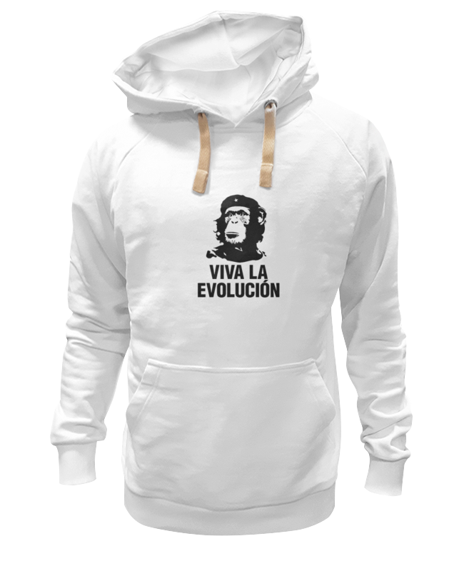 Толстовка Wearcraft Premium унисекс Printio Viva la evolucion viva baby viva baby спортивный костюм бежевый