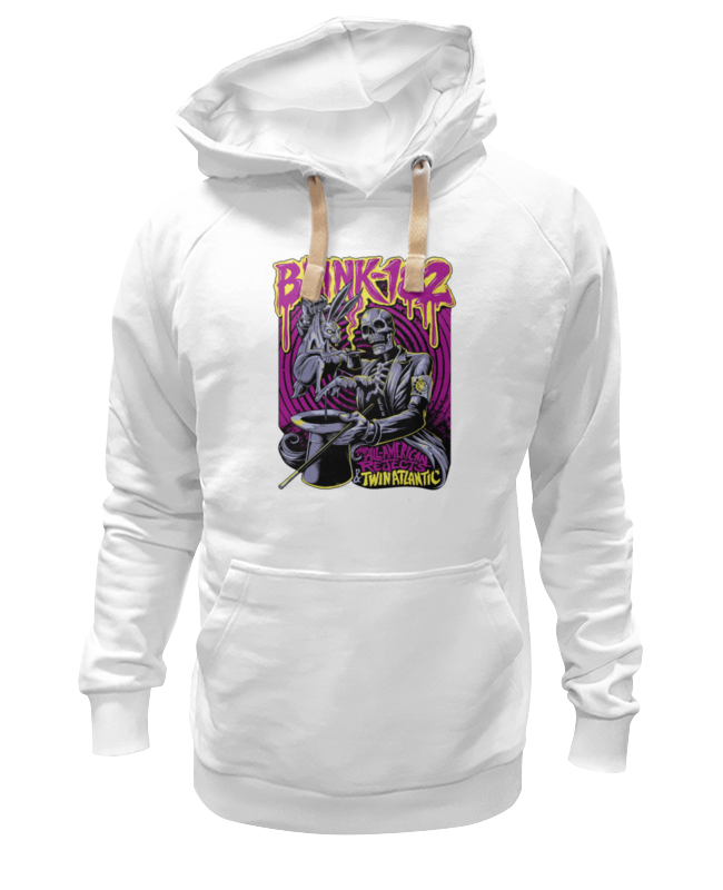Толстовка Wearcraft Premium унисекс Printio Blink-182 band толстовка wearcraft premium унисекс printio kiss band