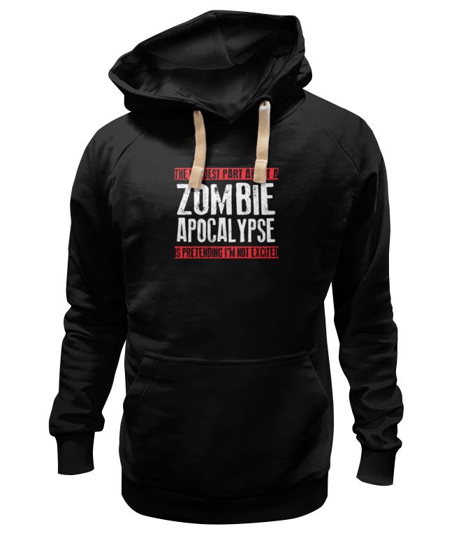 Толстовка Wearcraft Premium унисекс Printio Zombie apocalypse толстовка wearcraft premium унисекс printio зомби zombie