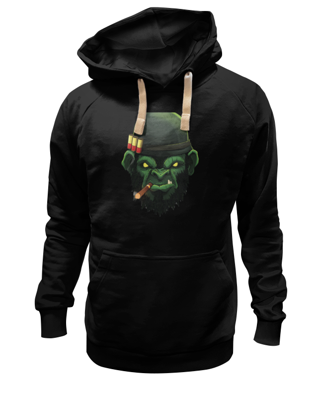 Printio War monkey/обезьяна толстовка wearcraft premium унисекс printio war monkey обезьяна