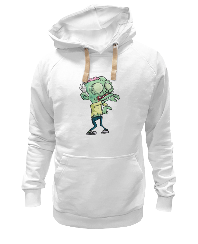 Толстовка Wearcraft Premium унисекс Printio Зомби (zombie) толстовка wearcraft premium унисекс printio zombie newlyweds