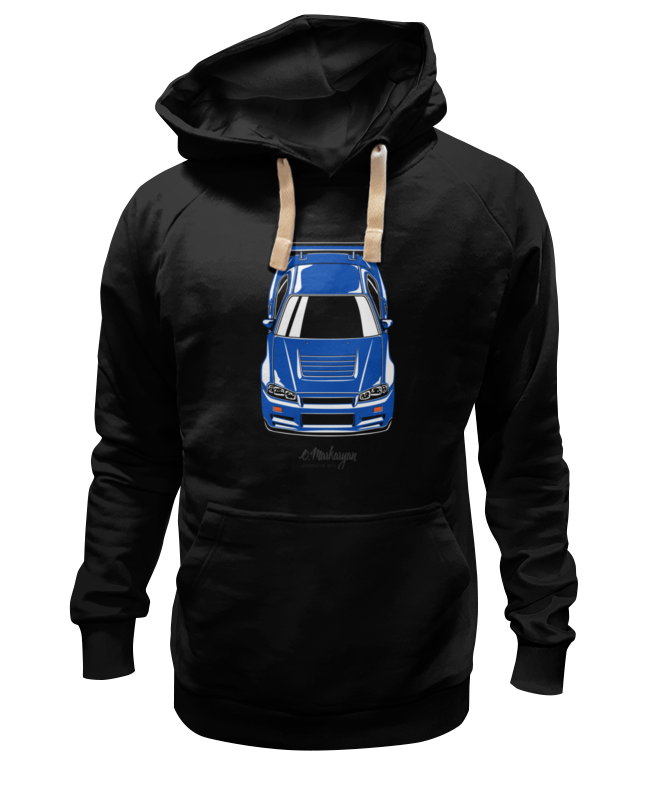 Толстовка Wearcraft Premium унисекс Printio Skyline r34